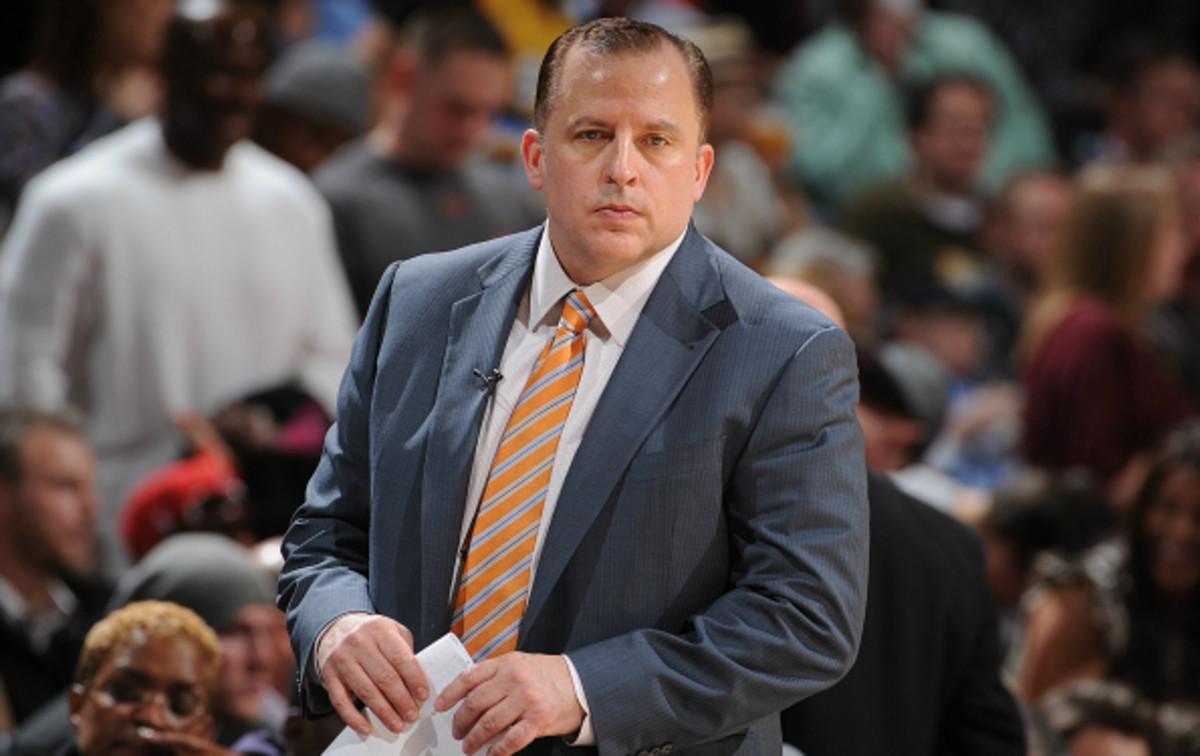 Tom Thibodeau has led the Bulls to the playoffs in each of his seasons as head coach. (Garrett Ellwood/ National Basketball)