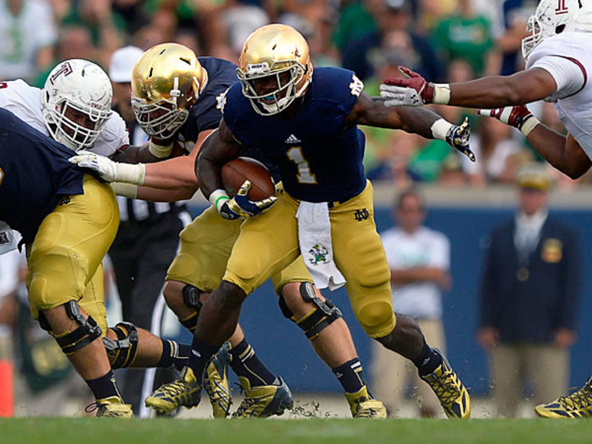 Notre Dame's Greg Bryant