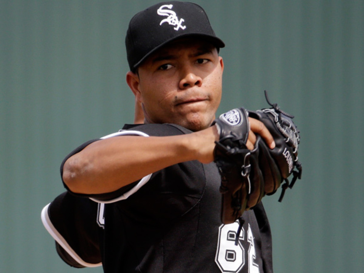 Jose Quintana, who is going to want to forget today's outing as soon as he can.