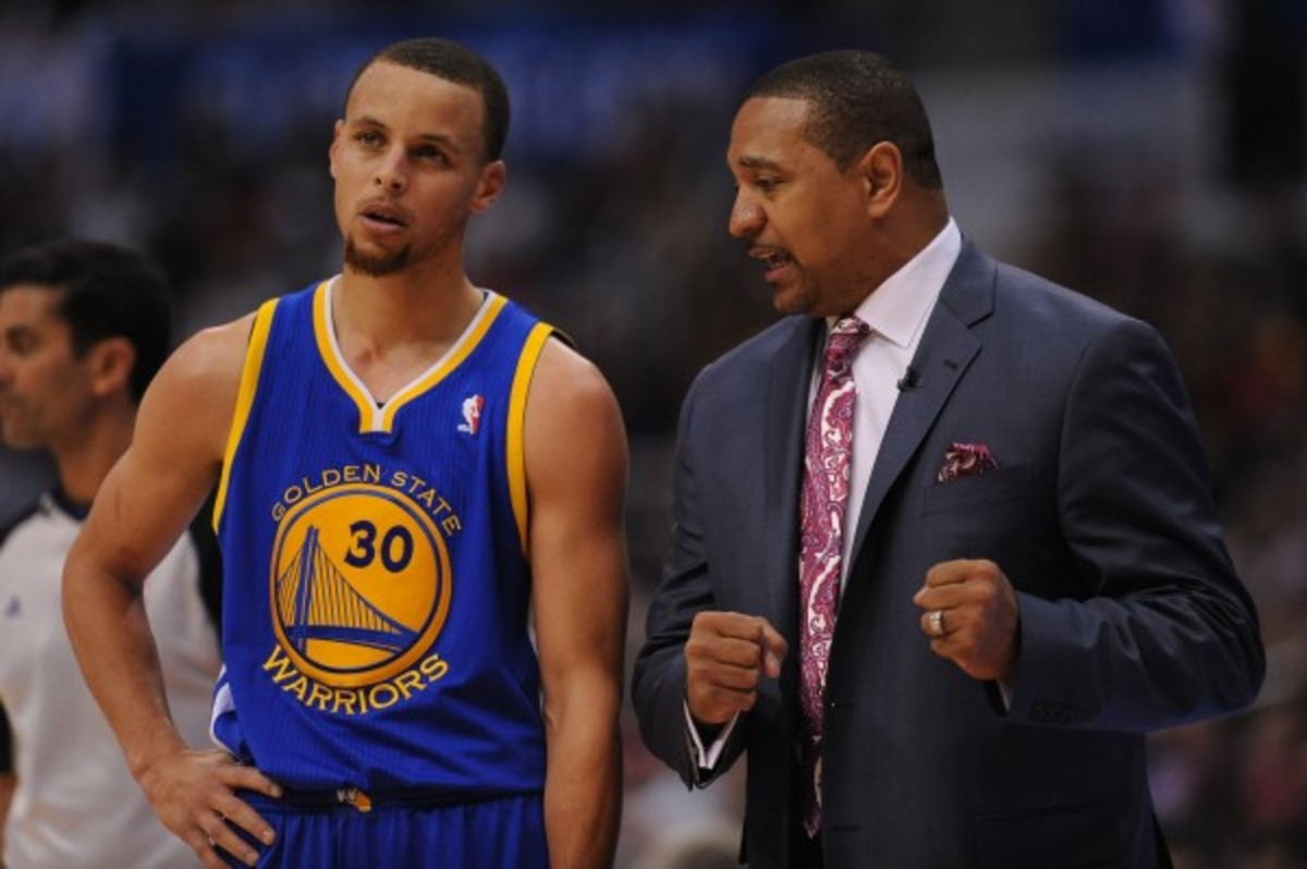 "Stephen Curry said Mark Jackson provided ""stability"" for him. (Noah Graham/Getty Images)"