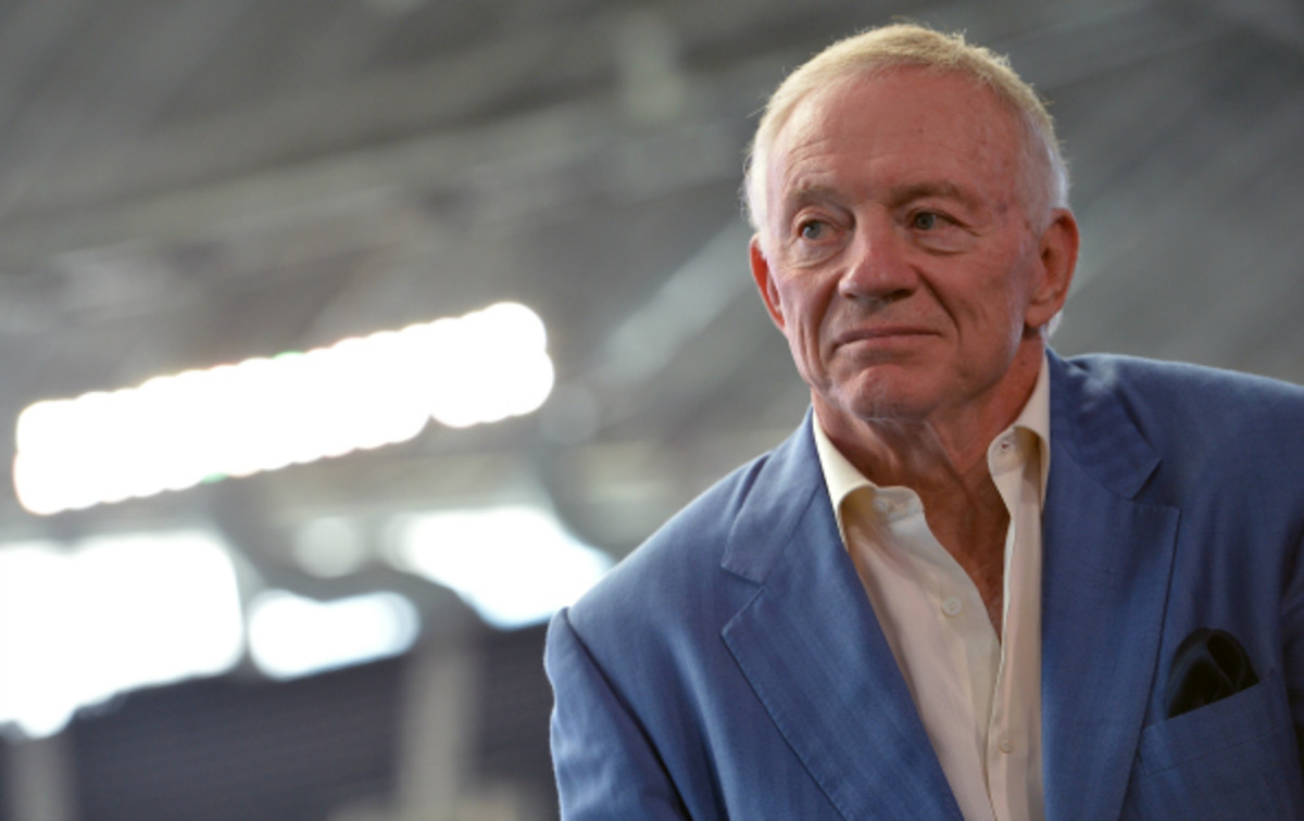 Jerry Jones' Cowboys will play the Jaguars in London during the 2014 season. (Rick Diamond/Getty Images)