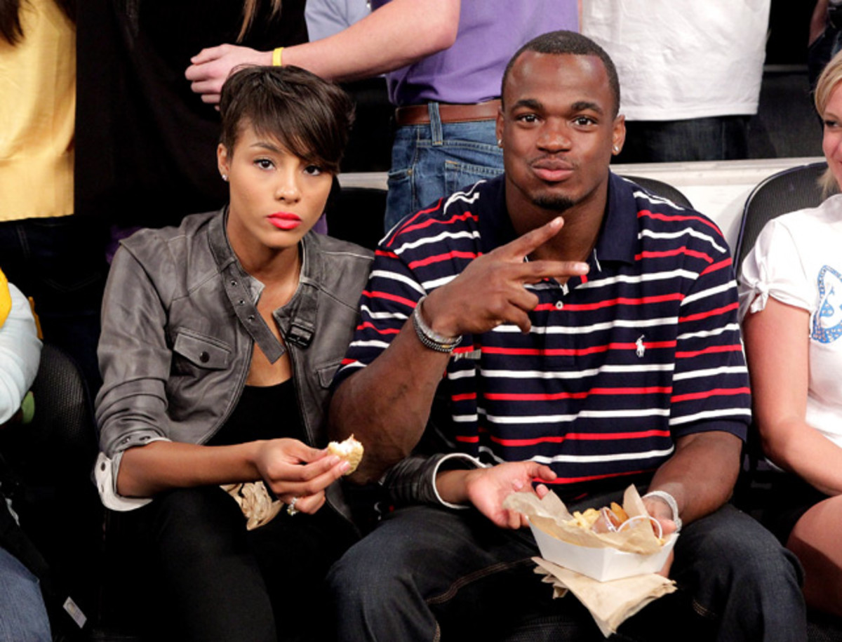 Adrian Peterson and Guest