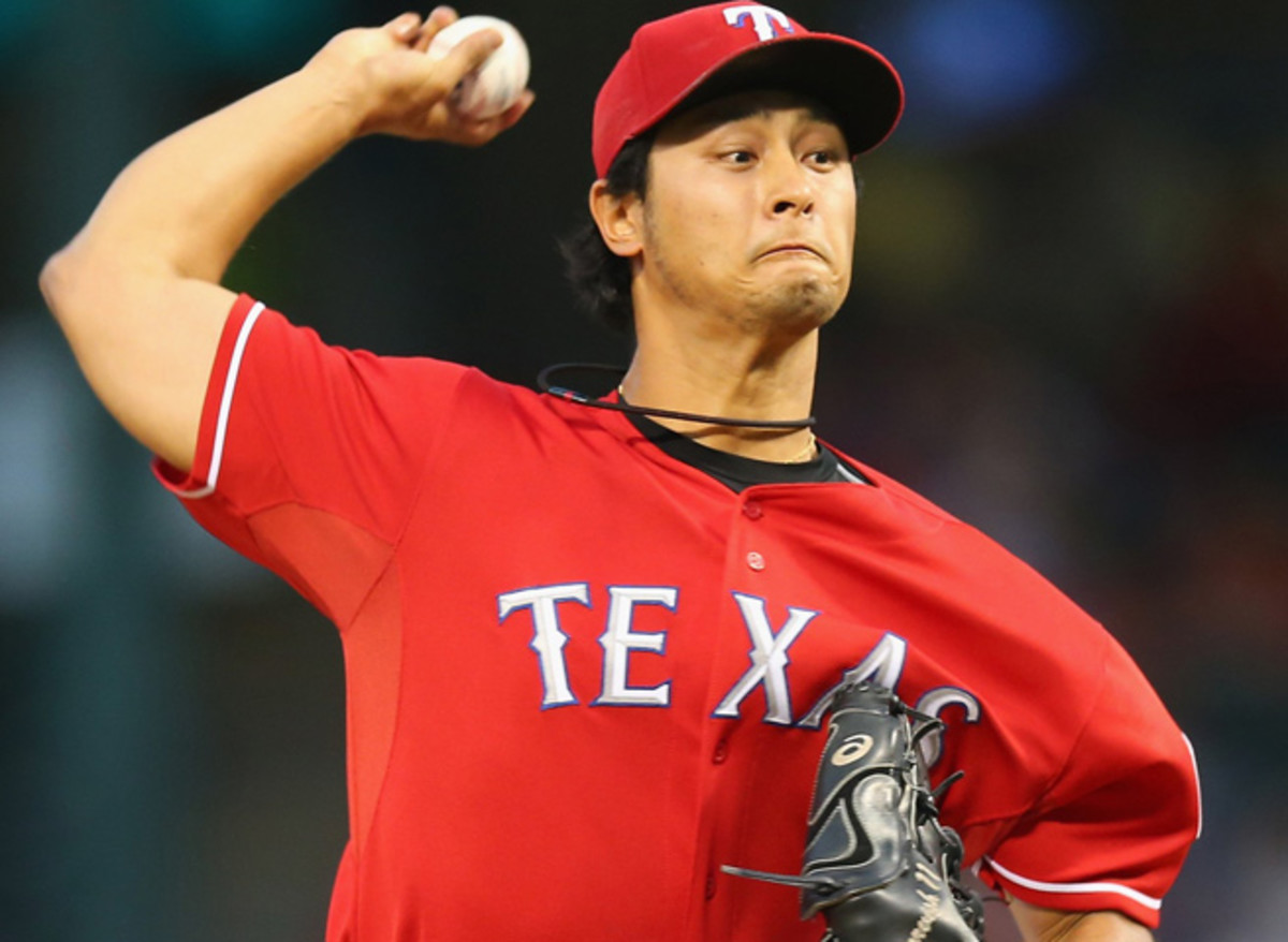 Yu Darvish, who went 13-9 with a 2.83 ERA in 2013, will make his first career Opening Day start.