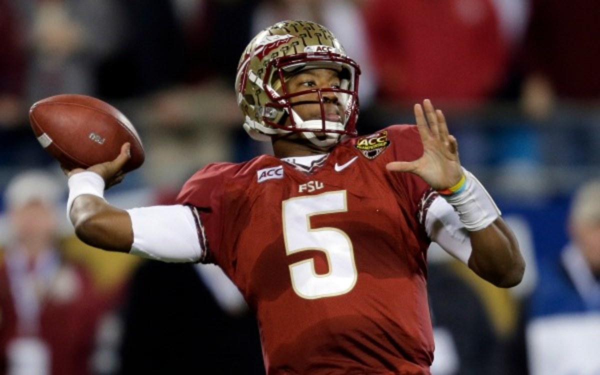 Jameis Winston will try to lead Florida State to the third national championship on Jan. 6. (AP Photo/Chuck Burton)