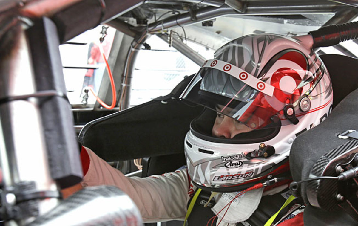Talented Kyle Larson, 21, is driven to succeed and wants to run in the Indy 500, too.