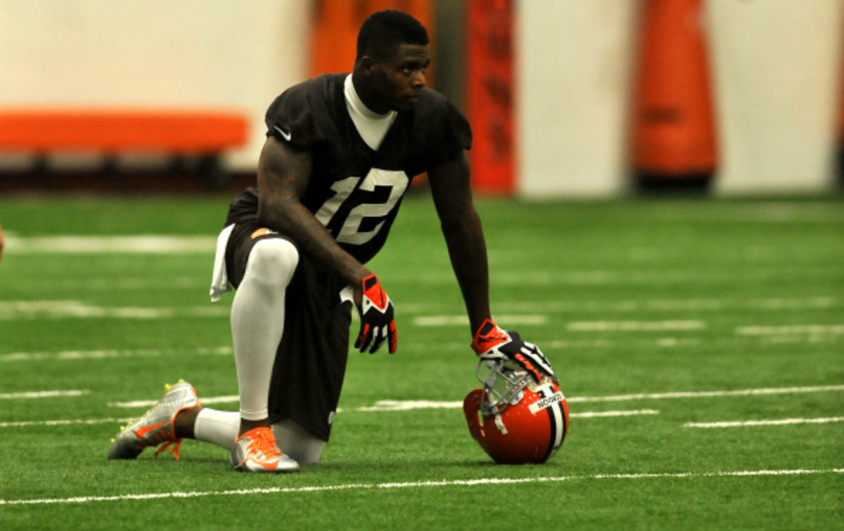 Josh Gordon caught 87 passes for 1646 yards last year for Cleveland. (Diamond Images/Getty Images)