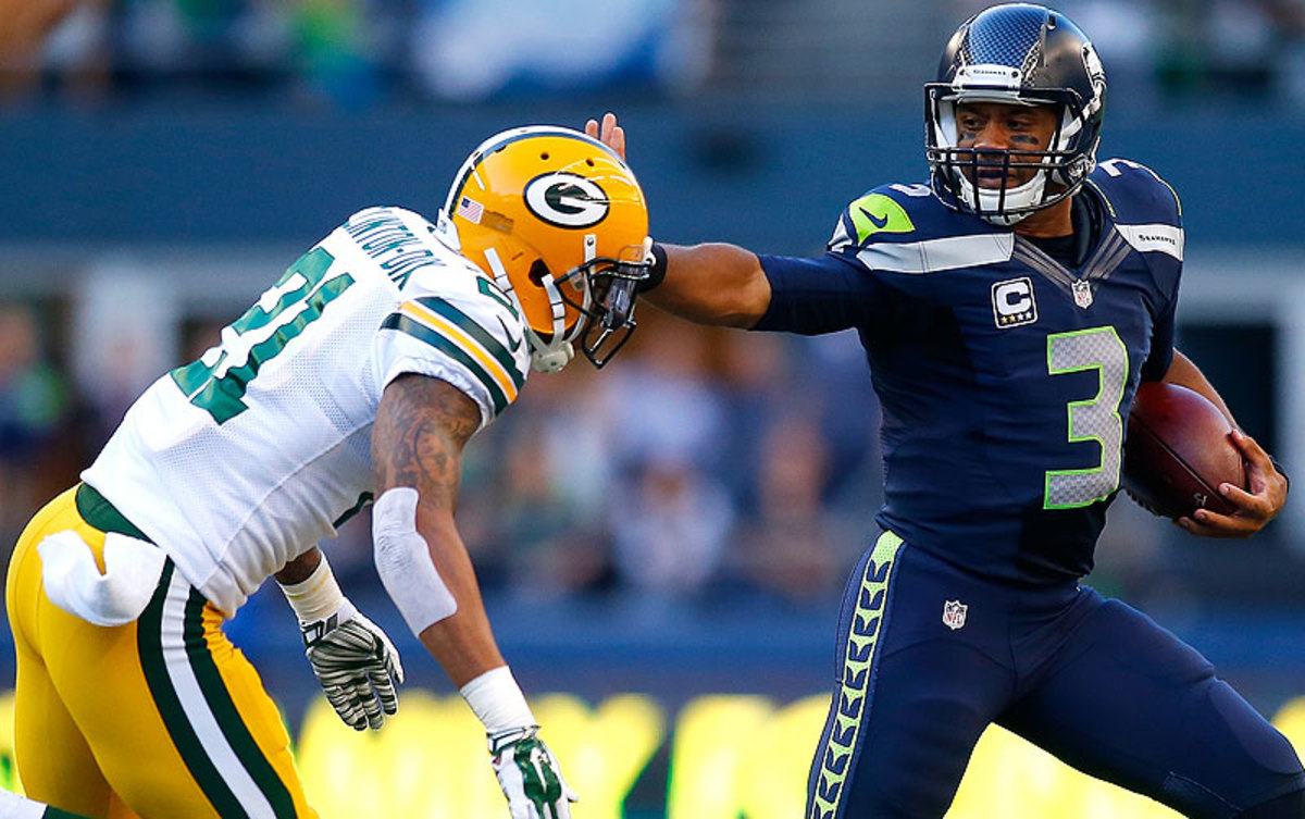 Russell Wilson (Jonathan Ferrey/Getty Images)