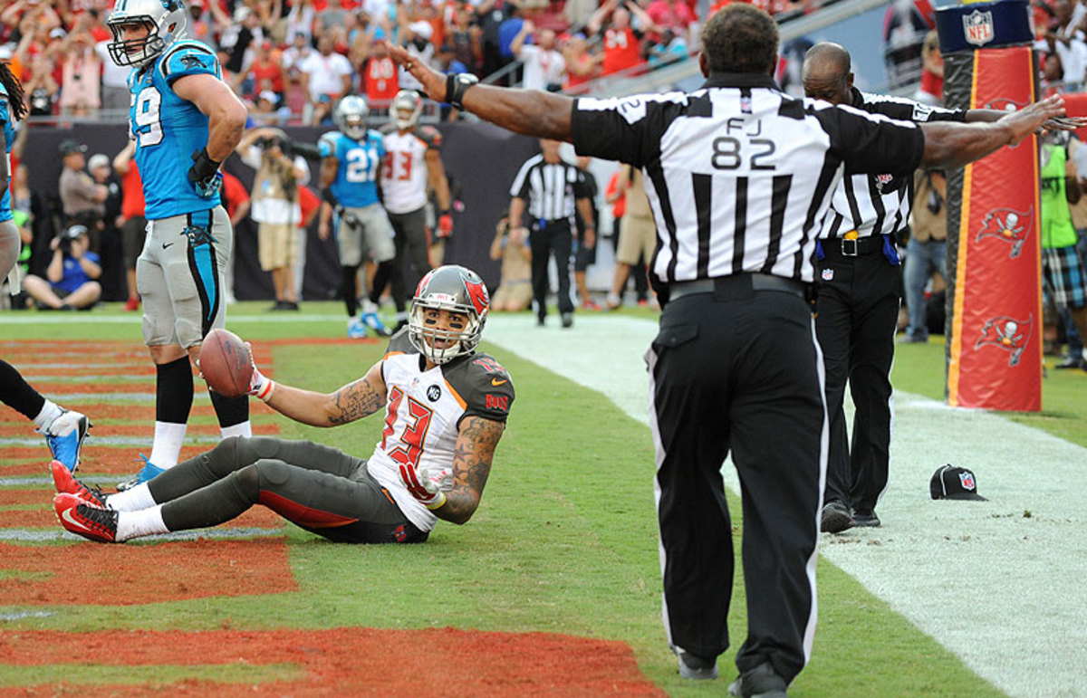 Neither the refs nor penalties were part of the storylines that emerged on Week 1. (Cliff McBride/Getty Images)
