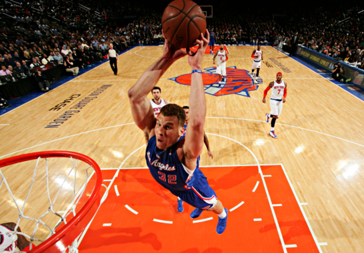 Blake Griffin is best known for his dunks, but he's done it all offensively for the Clippers this season. (Nathaniel S. Butler/NBAE via Getty Images)