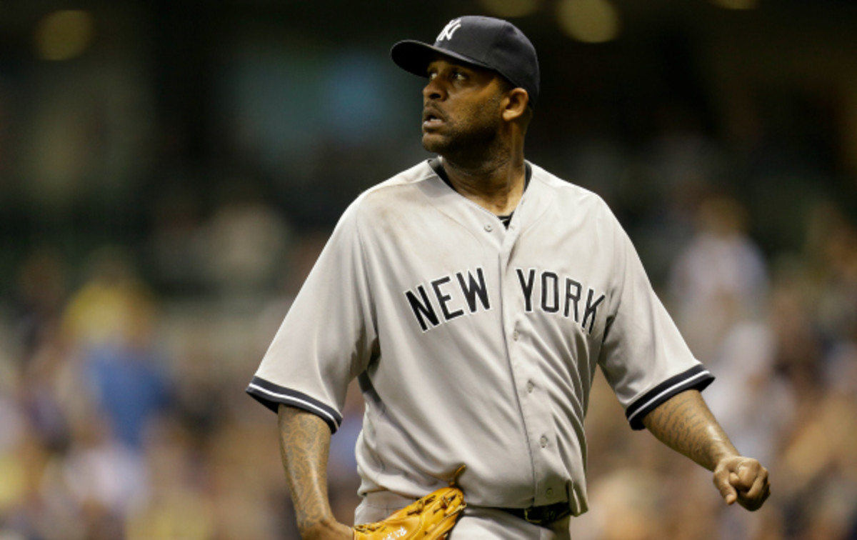 C.C. Sabathia has an ERA of 5.28 so far this season. (Mike McGinnis/Getty Images)