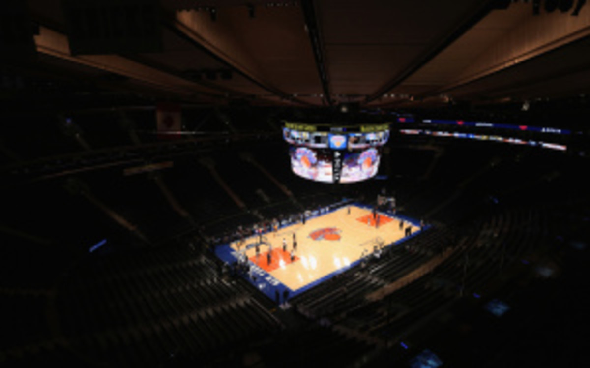 Despite their current 15-26 record, the Knicks are worth $1.4 bilion and are the league's most valuable franchise. (Bruce Bennett/Getty Images)