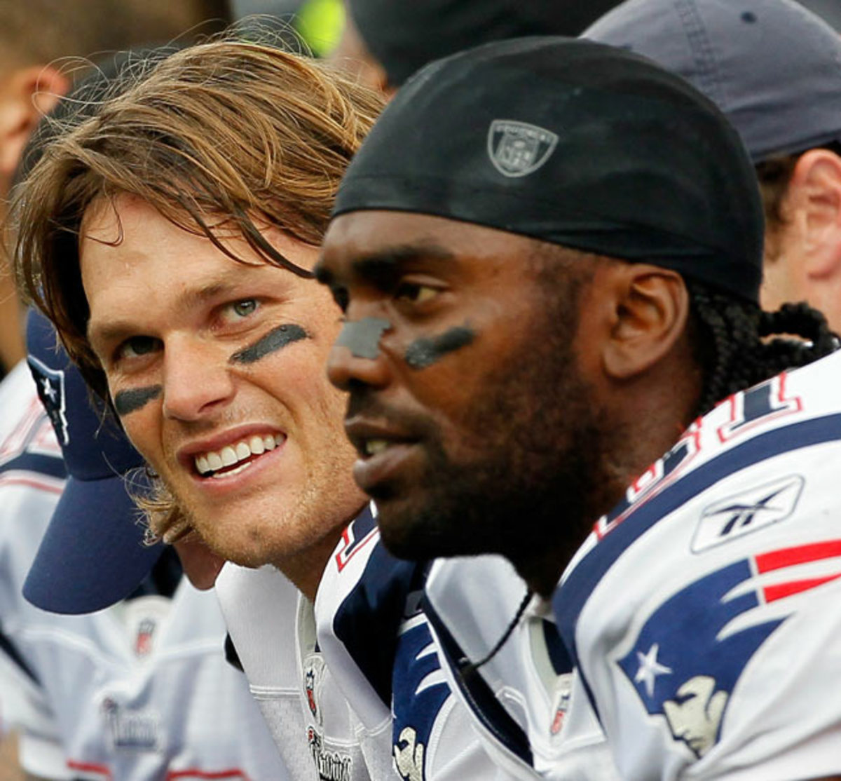 Tom Brady and Randy Moss