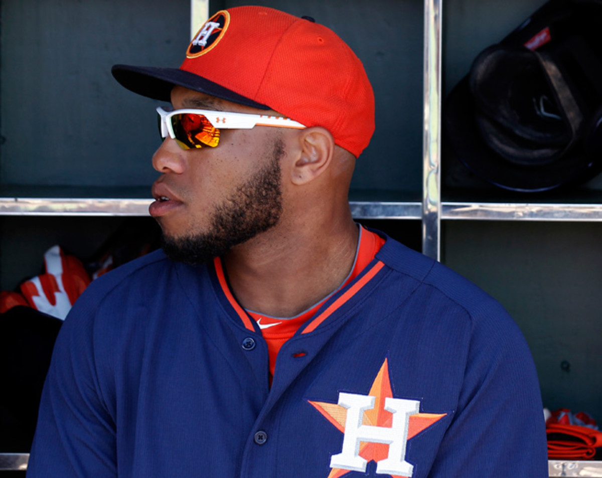 Jon Singleton was acquired by the Astros from the Phillies as part of the Hunter Pence deal in 2011.