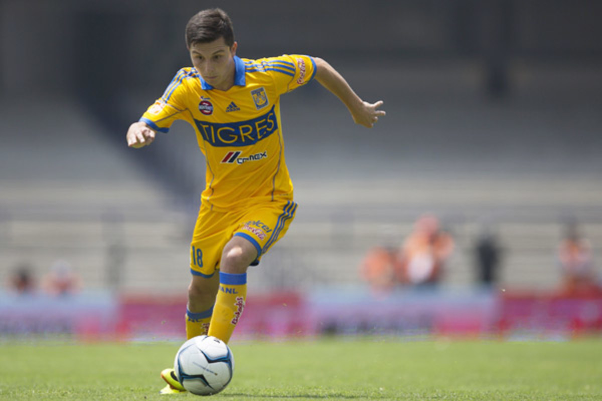 Jose Torres debuted with Tigres in December 2012.  (Miguel Tovar/Latin Content/Getty Images)