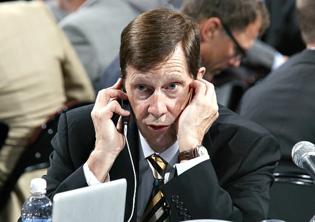 Team USA GM David Poile is trying to apologize to Bobby Ryan for harsh comments made by Brian Burke.