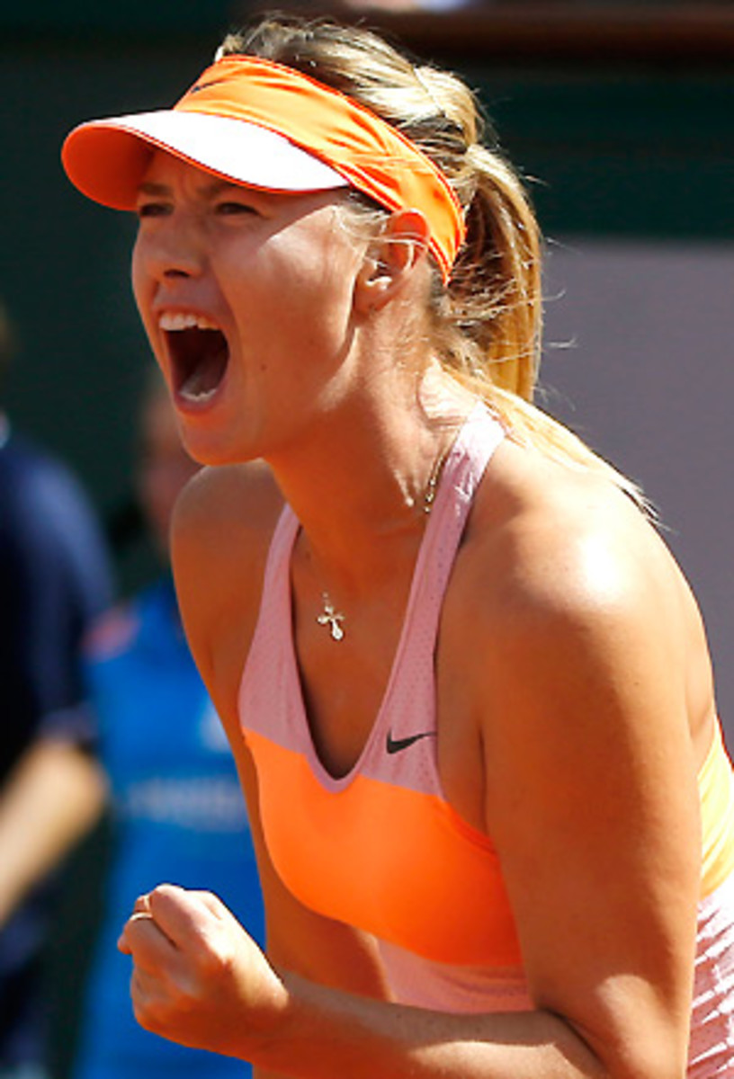 Maria Sharapova hasn't lost a three-set match on clay since 2010. (Michel Euler/AP)
