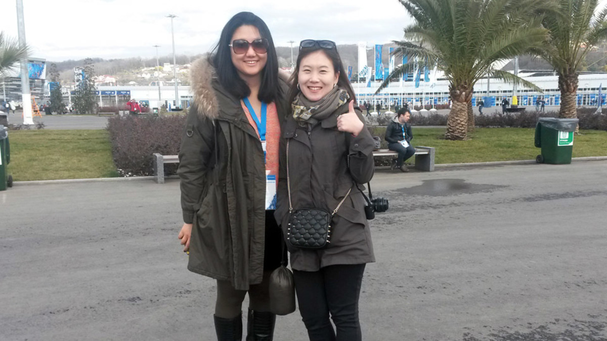 Fans from South Korea were excited to see Kim Yu-Na defend her figure skating gold medal.