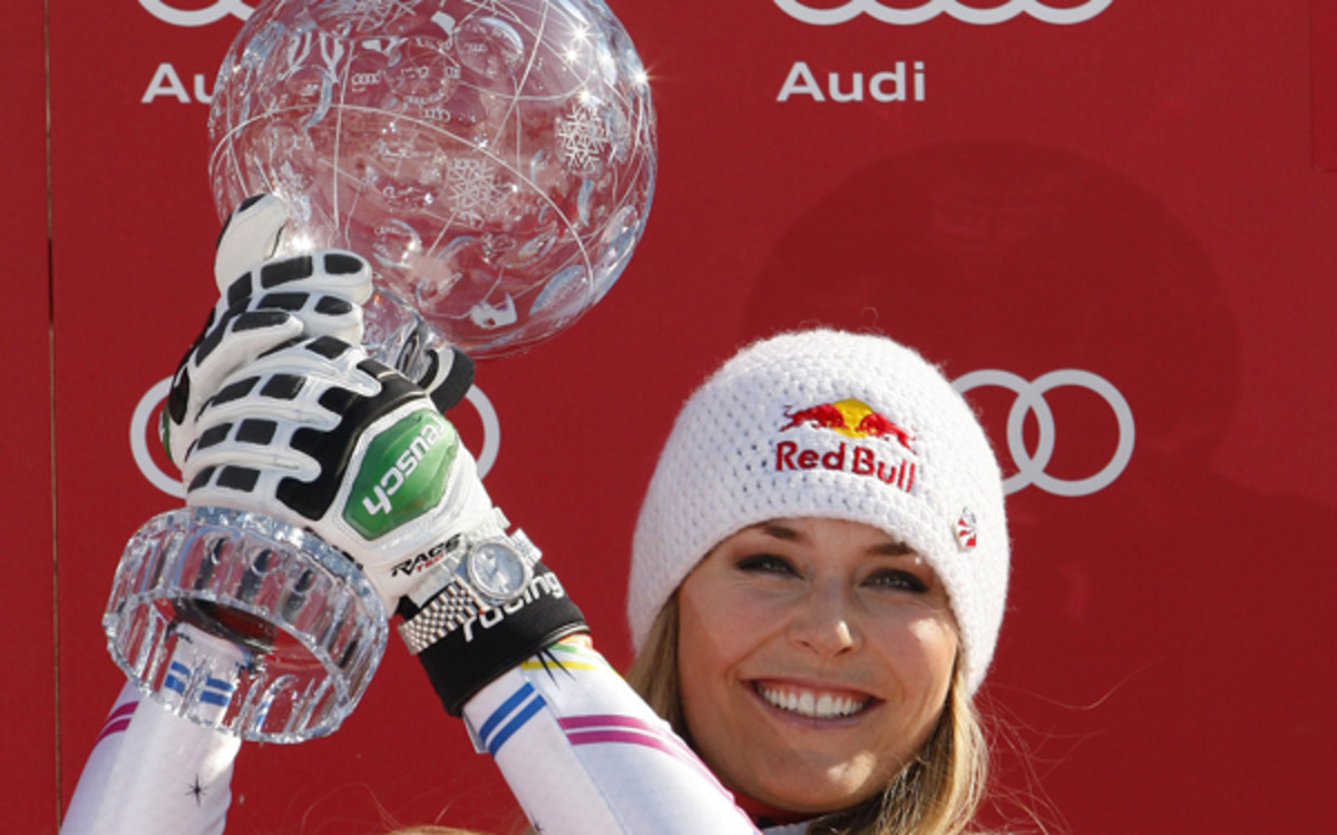 Lindsey Vonn says her knee is healthy and she return to return to skiing. (Alexis Boichard/Agence Zoom/Getty Images)