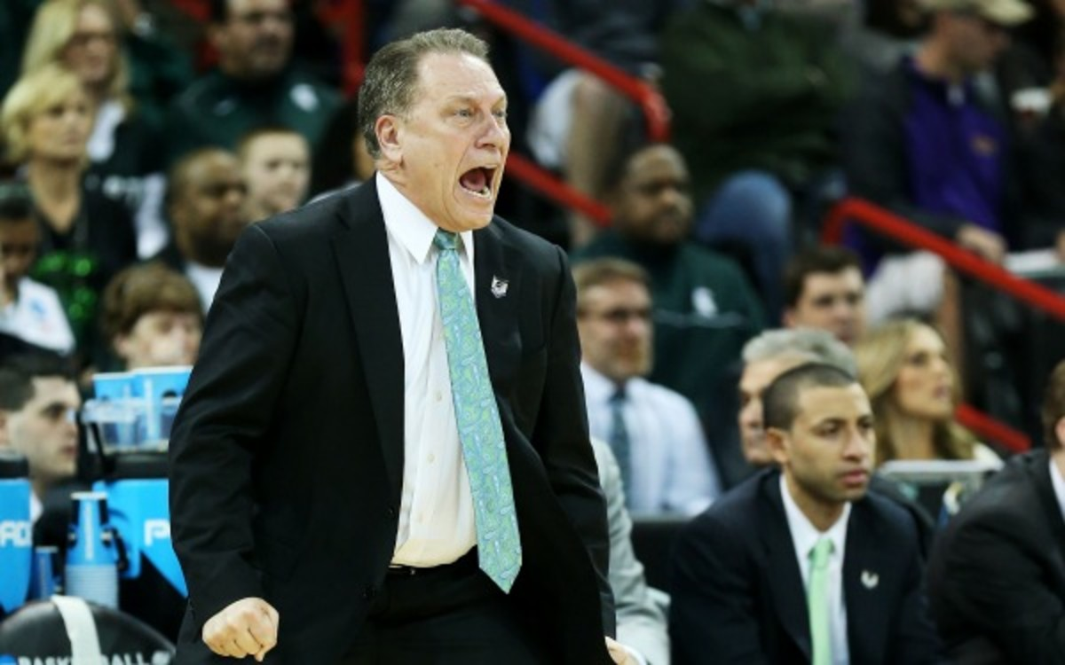 Tom Izzo has led Michigan State to 17 straight NCAA tournament appearances. (Stephen Dunn/Getty Images)