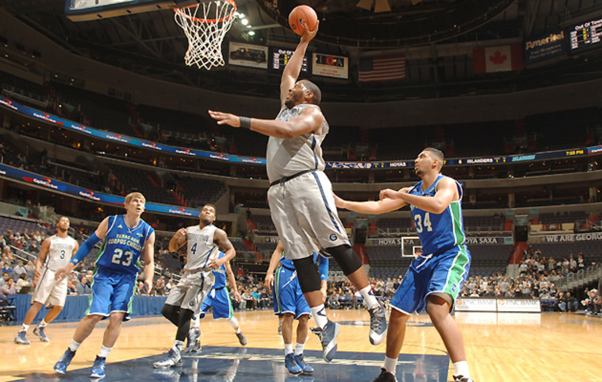 At 6-10 and 350 pounds, Georgetown's Joshua Smith is a matchup without parallel in college basketball.