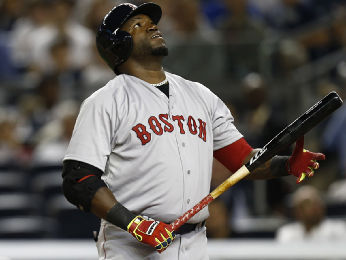 David Ortiz and the Red Sox are slumping, but is there reason to worry just yet? (Jeff Zelevansky/Getty Images)