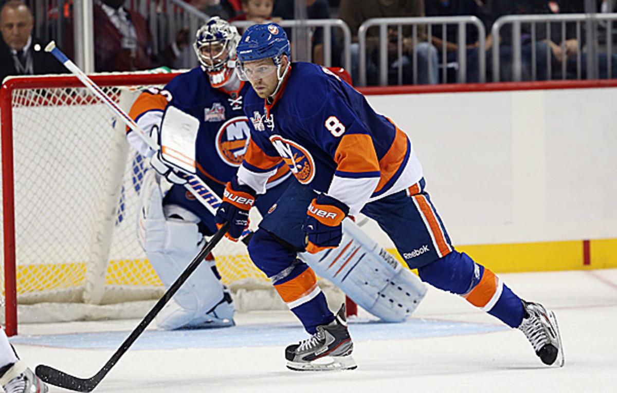 Griffin Reinhart of the New York Islanders