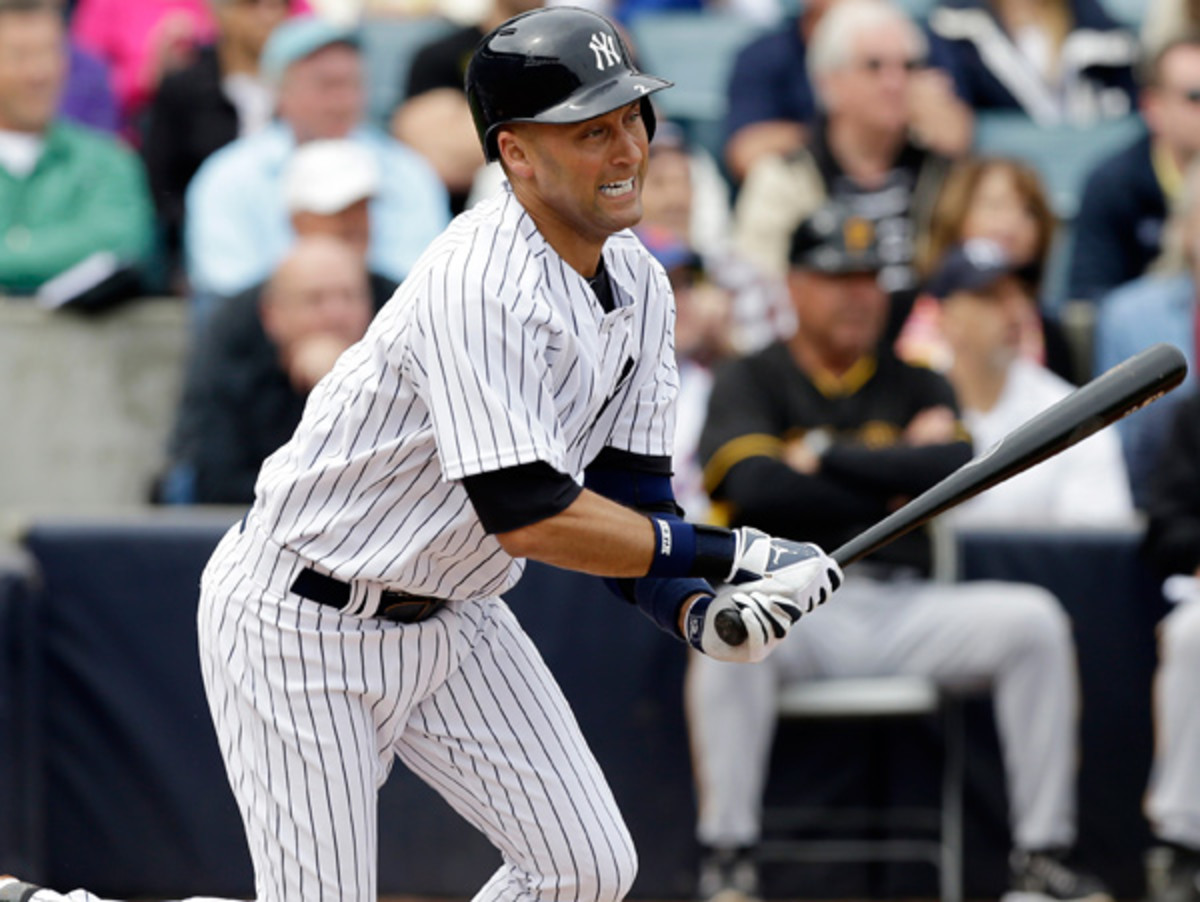 Derek Jeter hopes his final campaign with the Yankees will end in a championship. (Charlie Neibergall/AP)