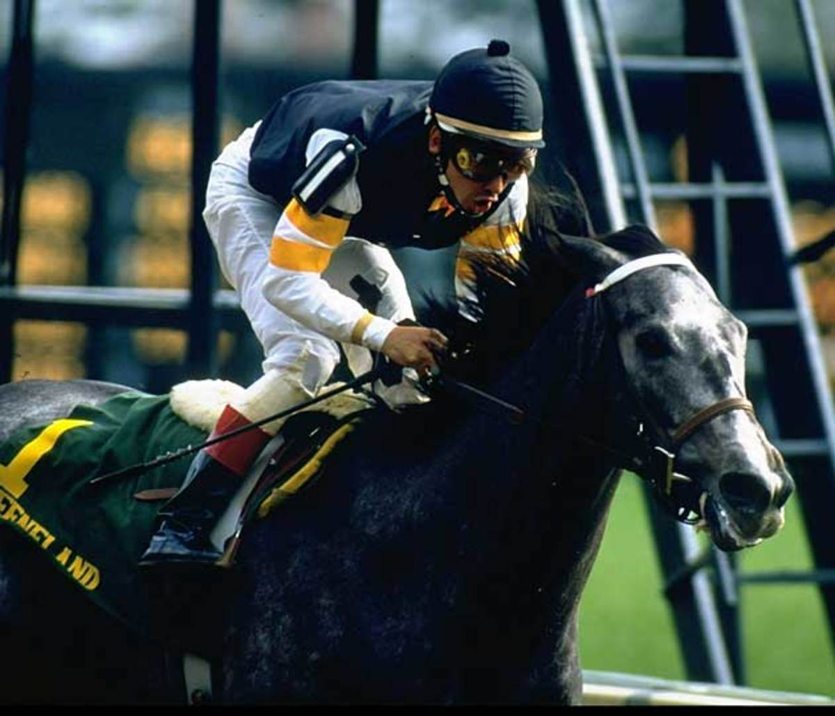 Smith won eight of 10 starts on Horse of the Year Holy Bull in 1994, including the Blue Grass Stakes.