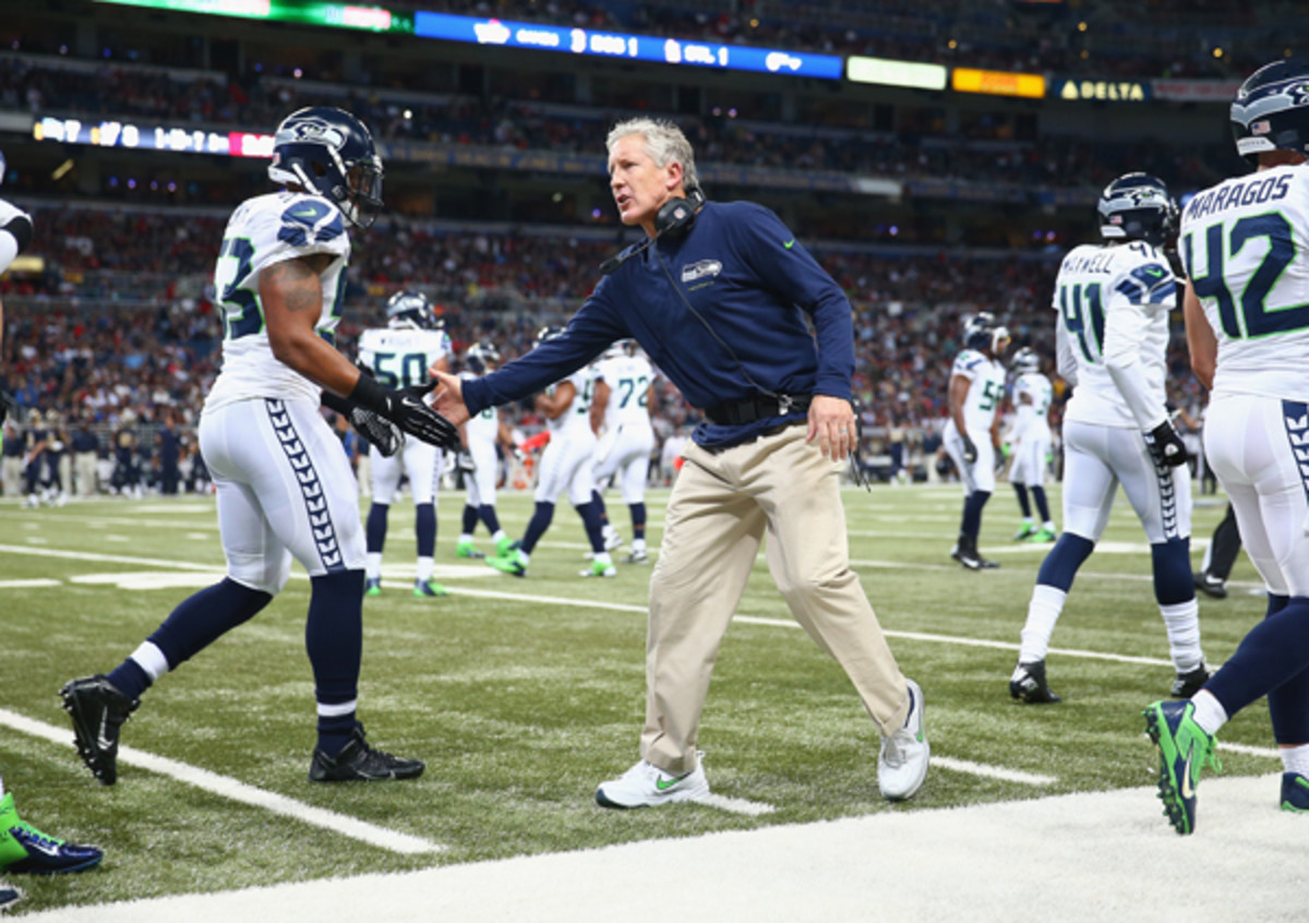 Pete Carroll inherited the fifth-youngest Super Bowl team, and he's built the second-youngest.