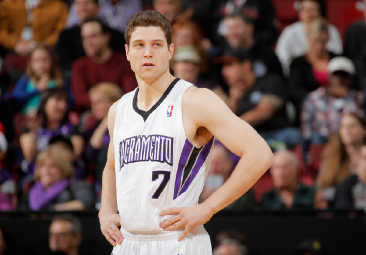 Jimmer Fredette will soon get a fresh start with a new team. (Rocky Widner/NBAE via Getty Images)