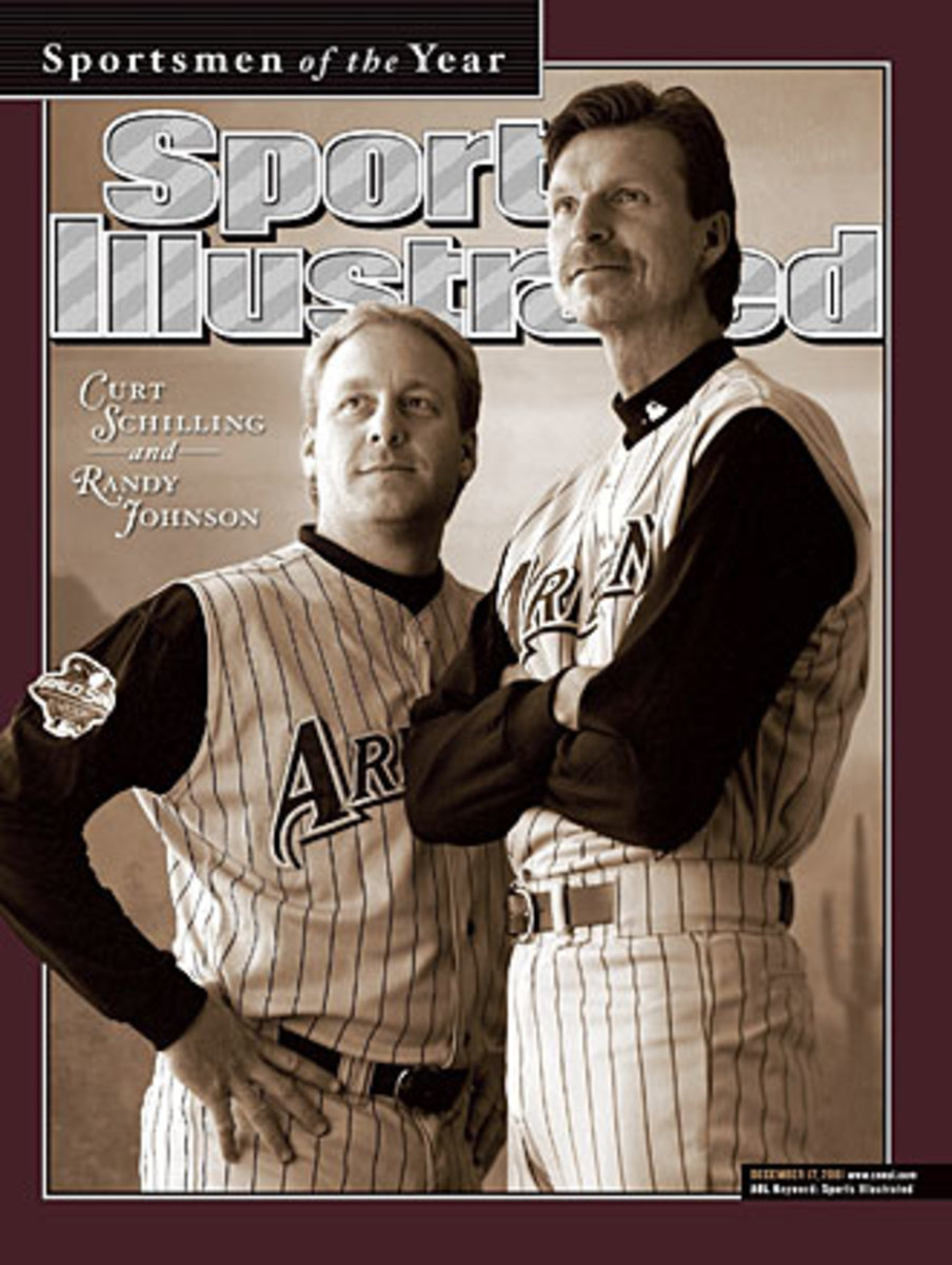 Curt Schilling and Randy Johnson cover