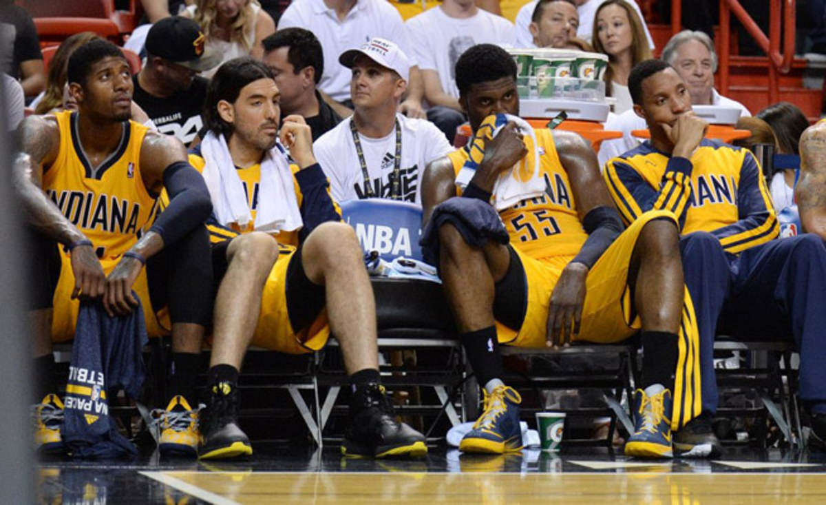 After earning the East's No. 1 seed, the Pacers fell in the conference finals for the second straight year.