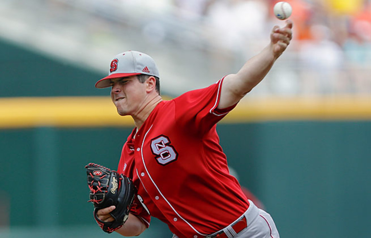 Despite his poor record, it's not hard to see what scouts love about N.C. State's Carlos Rodon.