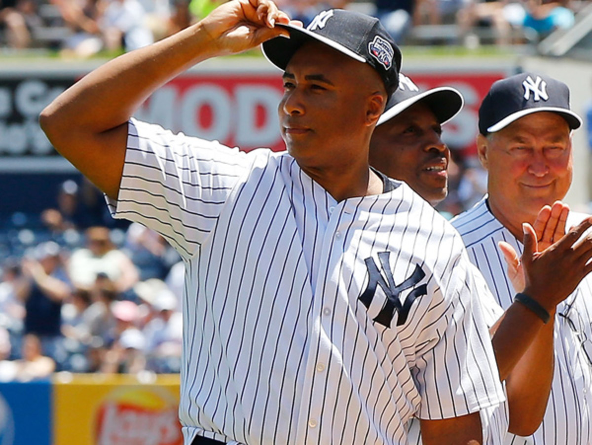 Bernie Williams spent his entire TK-year career with the Yankees. (Jim McIsaac/Getty Images)