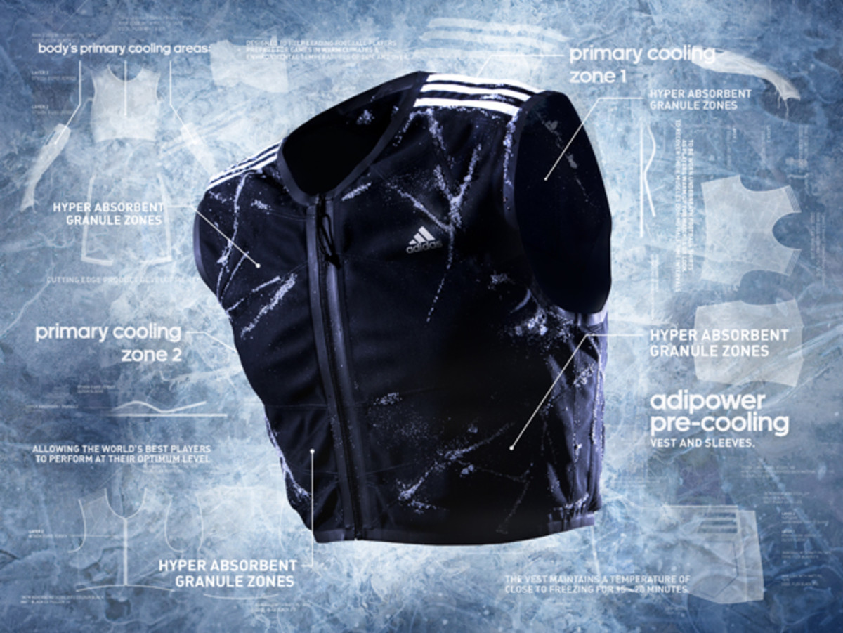 adiPower pre-cooling vest