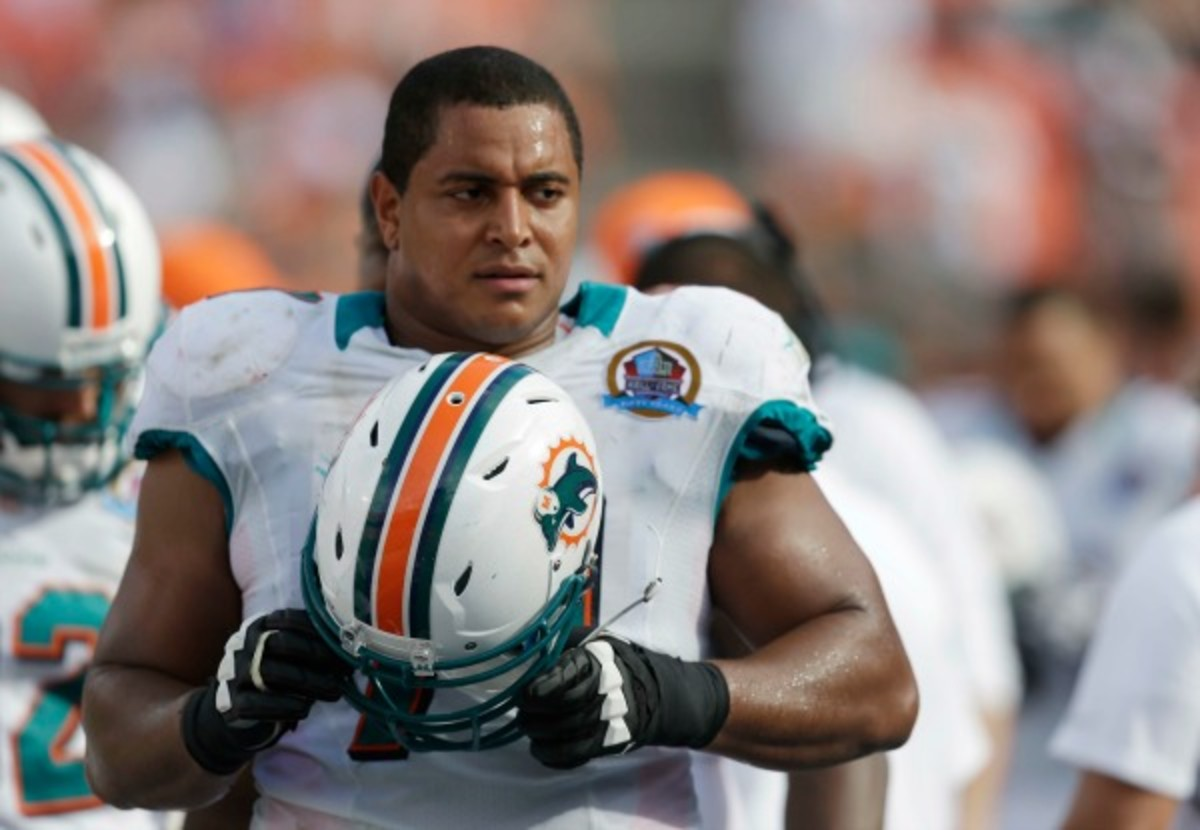 Offensive tackle Jonathan Martin reportedly had enough of his teammates' bullying and teasing. (AP)
