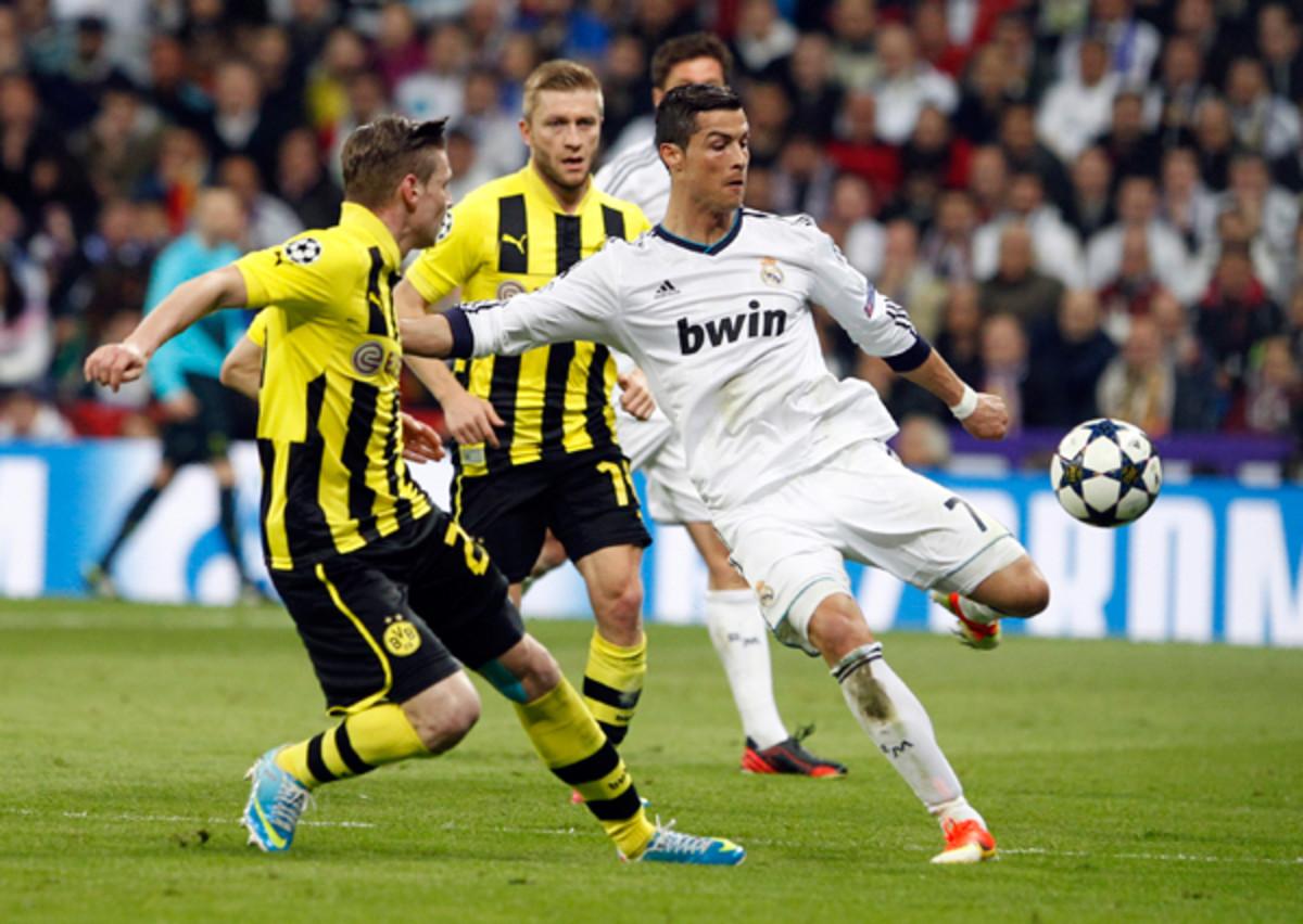 Cristiano Ronaldo, Borussia Dortmund
