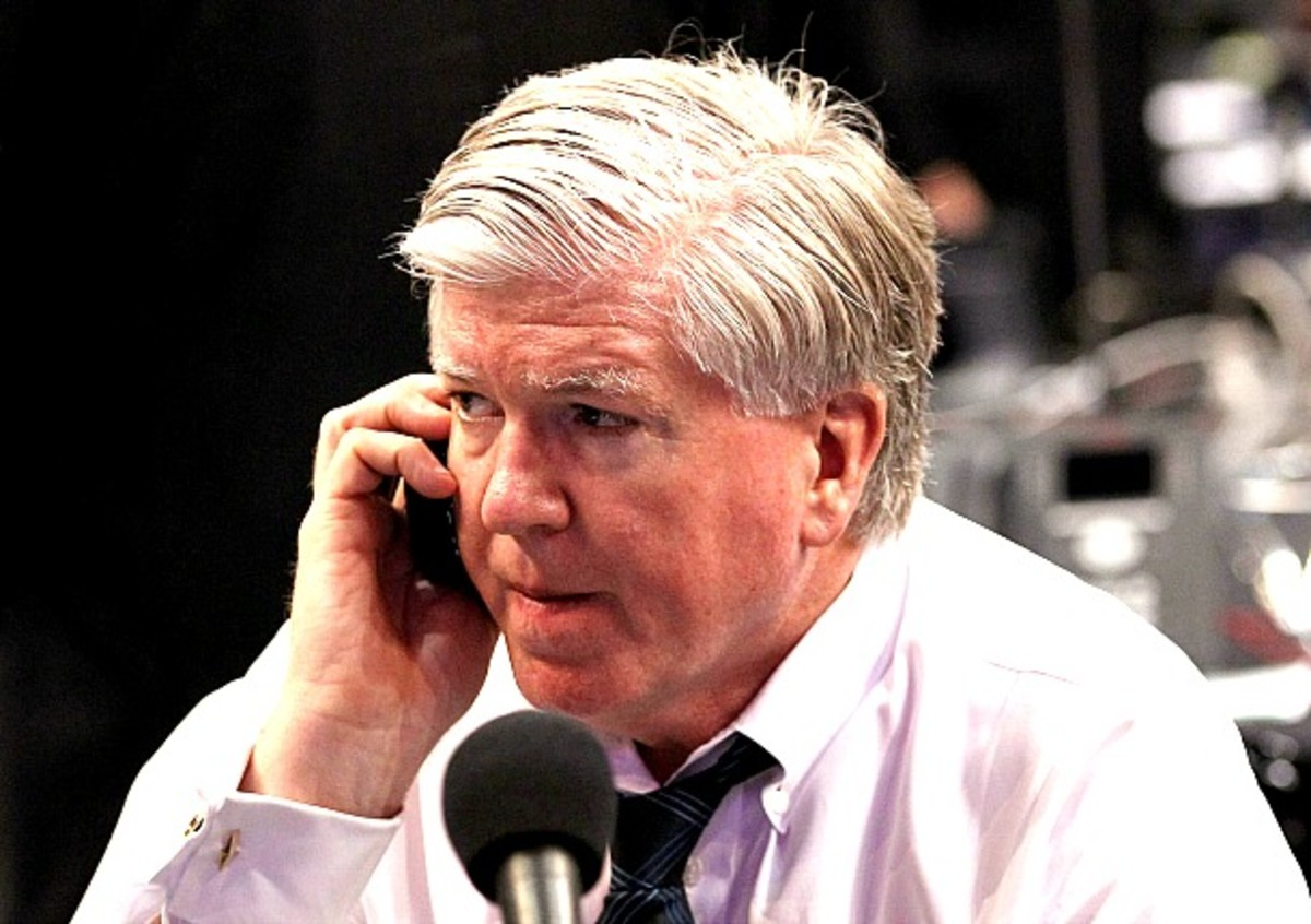Brian Burke of Team USA was called gutless by Bobby Ryan.
