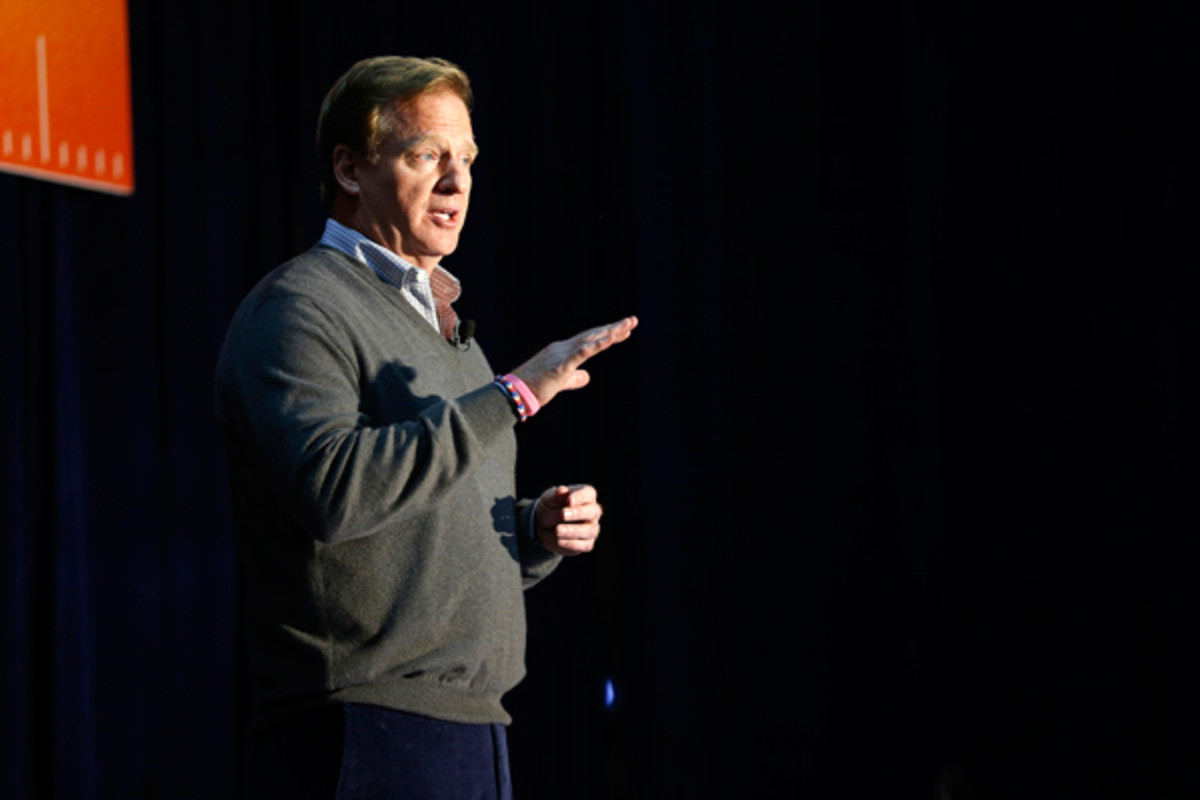It could be back to the drawing board for Roger Goodell.