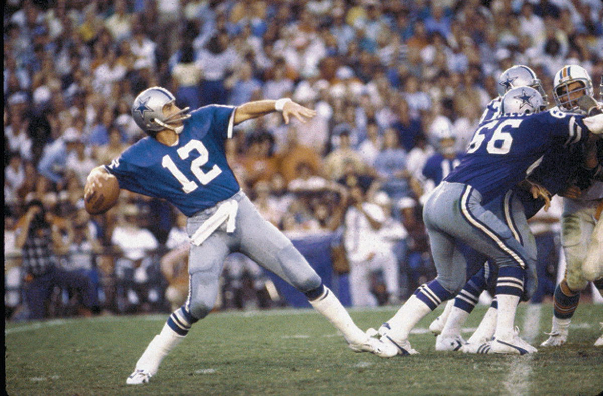 Staubach was the biggest name on America's Team, leading the Cowboys to five Super Bowl berths and two titles in the 1970s.