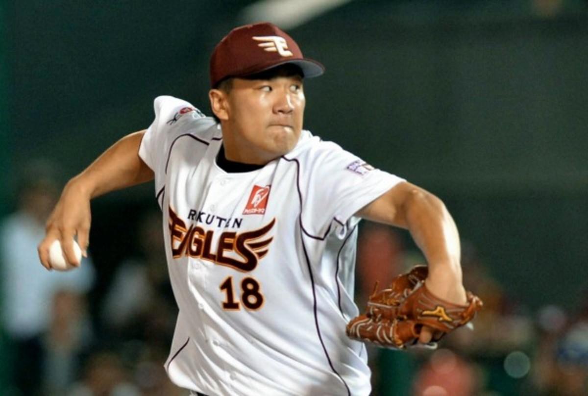 Masahiro Tanaka was 24-0 with a 1.72 ERA last season. (The Asahi Shimbun/Getty Images)