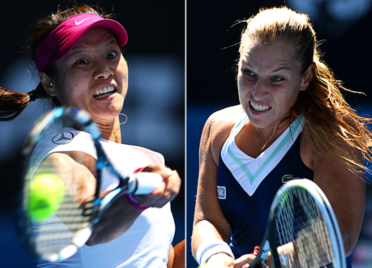 Dominika Cibulkova will be the highest-ranked player that Li Na has faced this tournament. (Getty Images)