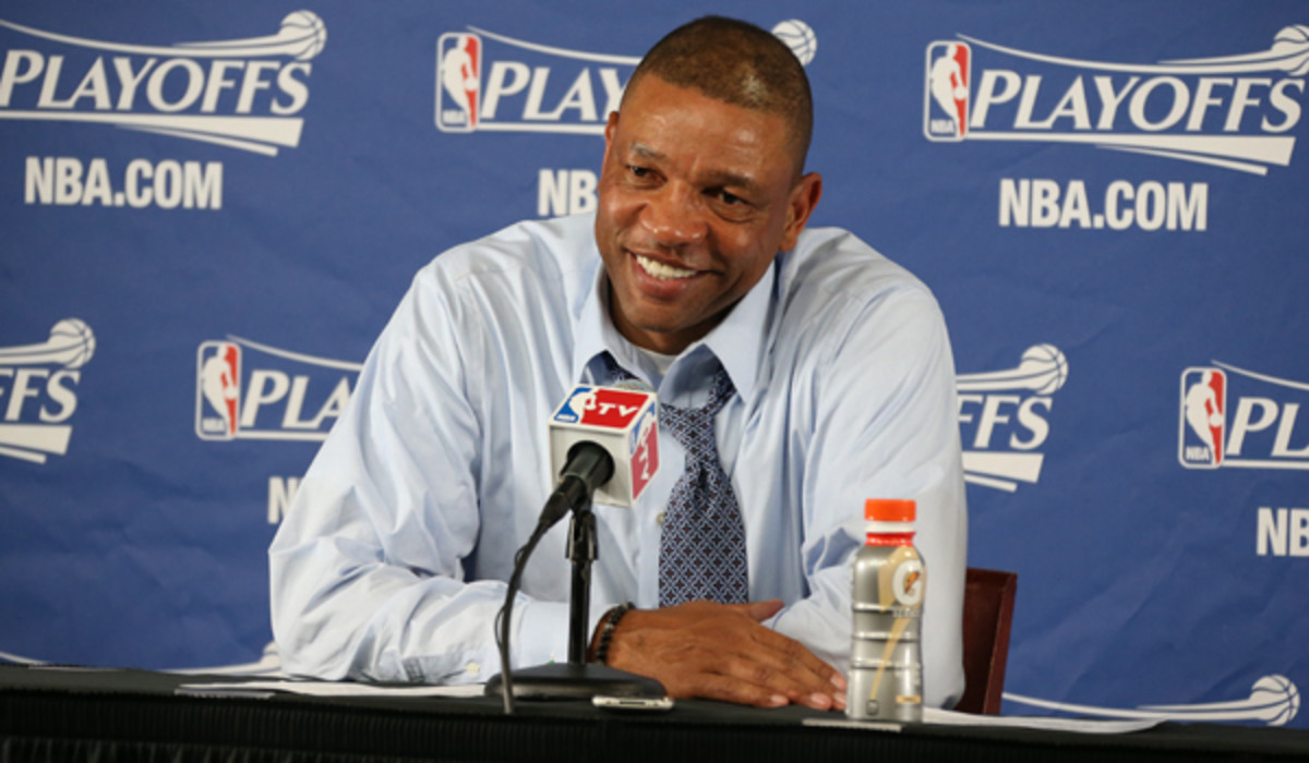 Doc Rivers was reportedly infuriated by Clippers owner Don Sterling's involvement in the team's trade negotiations this offseason. (Nathaniel S. Butler/NBAE via Getty Images)