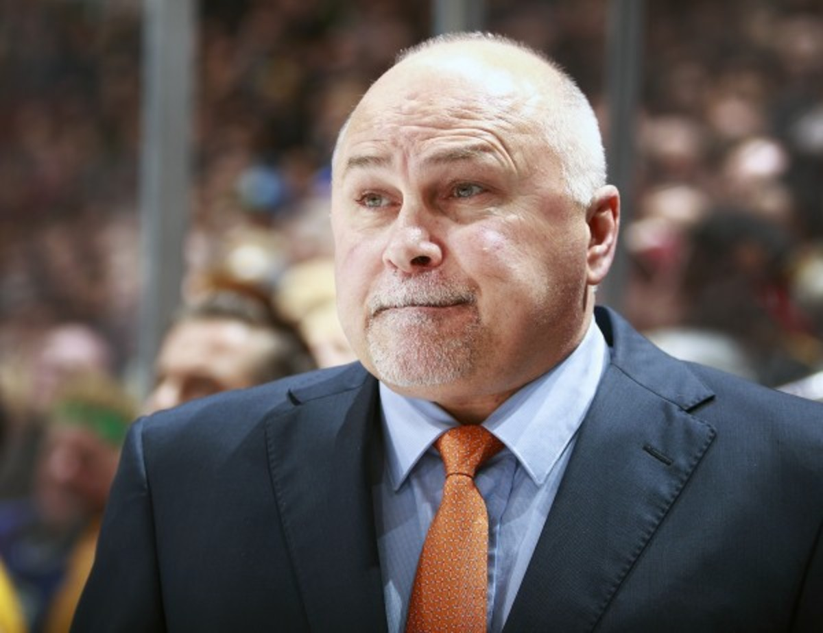 Barry Trotz served as a part-time scout with the Capitals in the 1980s. (Jeff Vinnick/Getty Images)