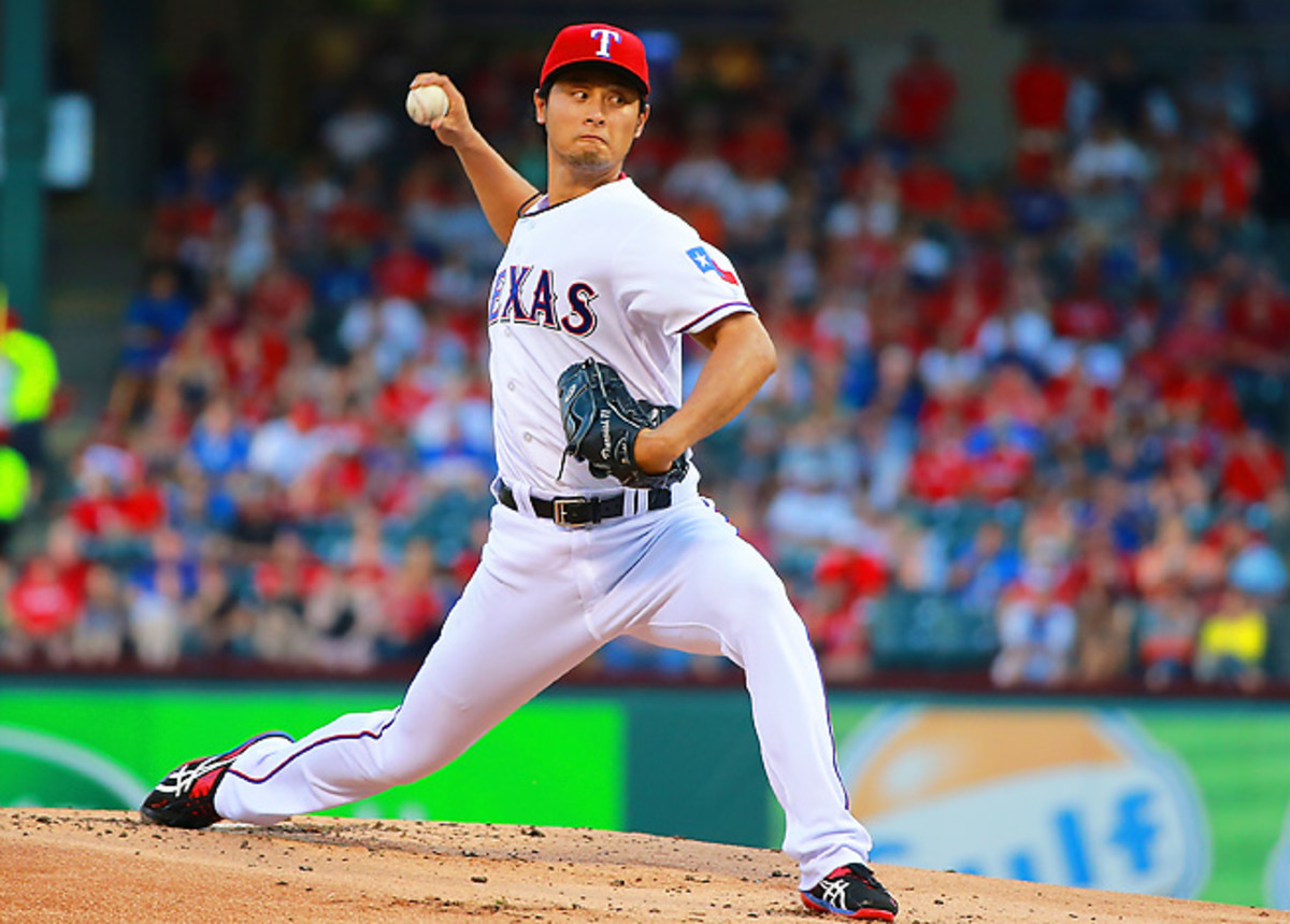 Yu Darvish was expected to start Opening Day before coming down with neck stiffness.