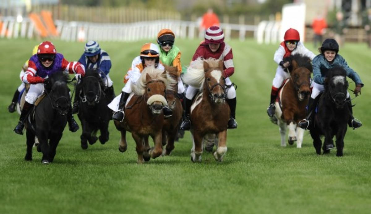 And yes, pony racing looks like the most fun ever :: Getty Images
