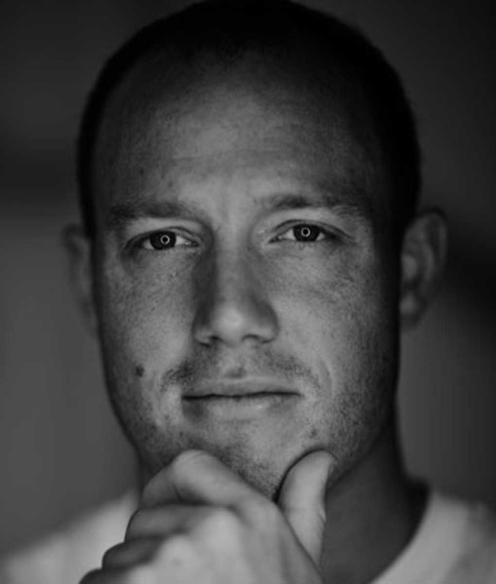 Tim Shaw, photographed by Jeremy Cowart for The MMQB.