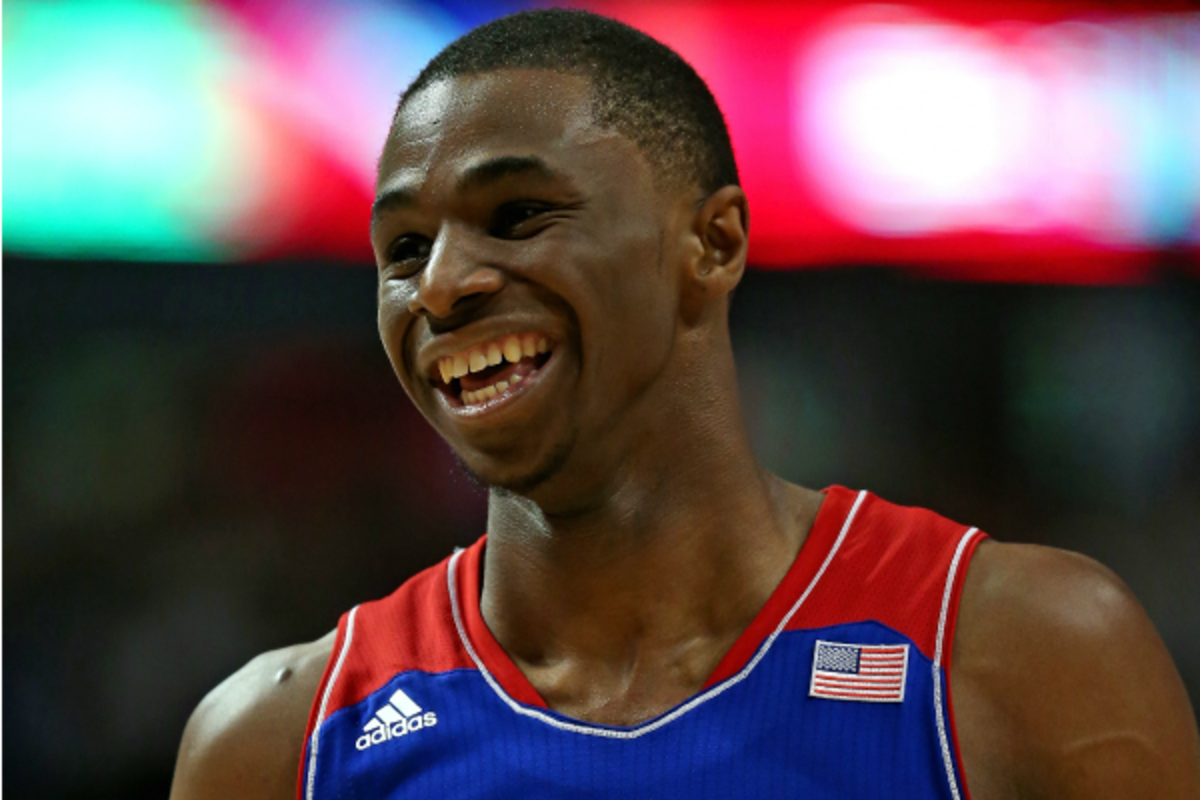 Andrew Wiggins' appearance in Boulder is already a hot ticket. (Jonathan Daniel/Getty Images)