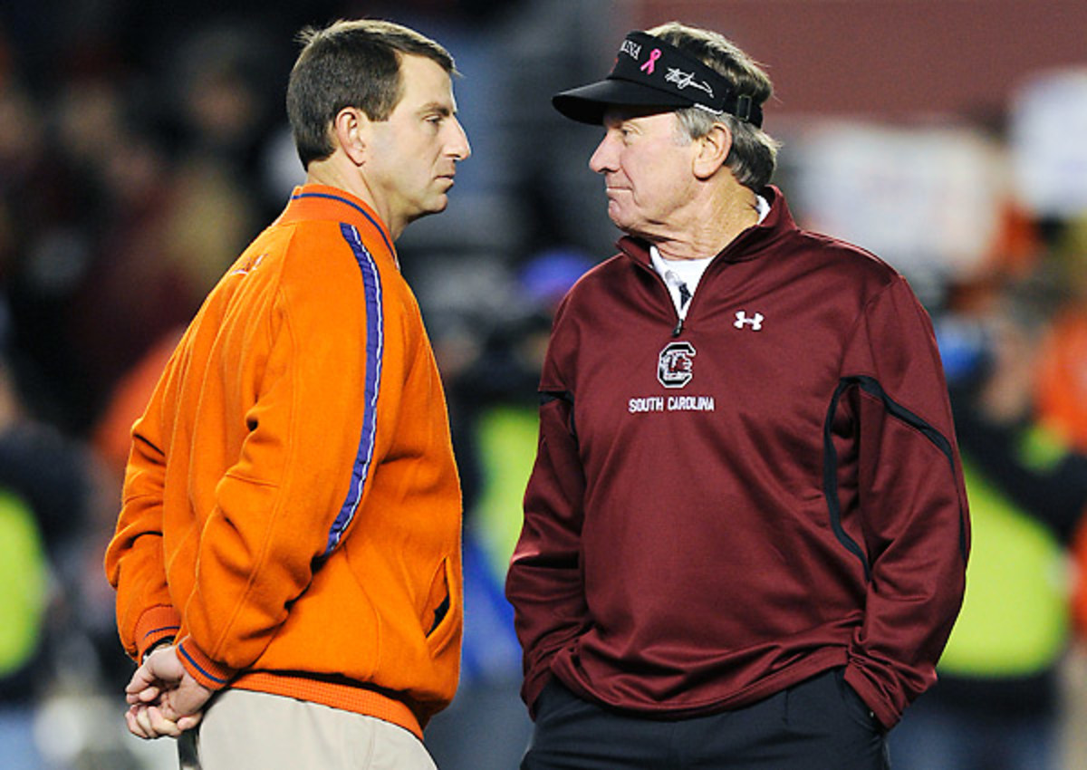 Clemson's annual rivalry game with South Carolina will satisfy its Power 5 scheduling requirement.