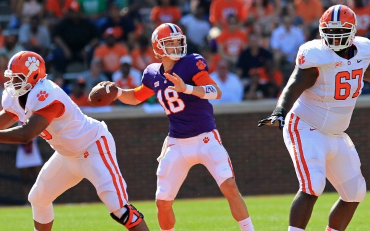 Clemson names Cole Stoudt starting quarterback - Sports ...